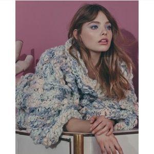 Rare FL&L KNITZ Mademoiselle Popover Sweater